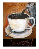 Espresso Yourself! Giclee Print by Angel Turner Dyke