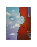 Musical Mind Of Man Giclee Print by Dynasty Gallery