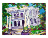 The Columns Hotel of New Orleans Giclee Print by Angel Turner Dyke