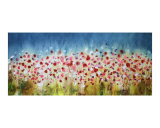 Wildflowers 2 Giclee Print by Brad Rickerby