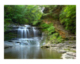 Summer Dream: Buttermilk Falls Photographic Print by Michael S Wills