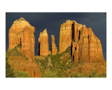 Sunset on Cathedral Rock, Sedona, Arizona Photographic Print by Michael S Wills