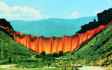 Valley Curtain, c.1972 Collectable Print by Christo