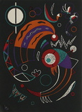 Cometes Collectable Print by Wassily Kandinsky