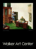 Office at Night Posters by Edward Hopper