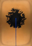 Blue Streak, 1980 Limited Edition by Otto Piene
