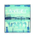 Drehs Rum Nebel-Leben Serigraph by Peter-Torsten Schulz