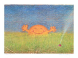 Sonne in Wiese Collectable Print by Peter-Torsten Schulz