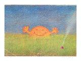 Sonne in Wiese Posters by Peter-Torsten Schulz