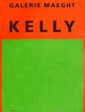 Galerie Maeght, 1964 Reproductions pour les collectionneurs par Ellsworth Kelly