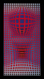 VP-RB Collectable Print by Victor Vasarely