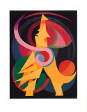 Spirituelle Realität Collectable Print by Auguste Herbin