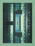 Messehochhaus Frankfurt, c.1999 Prints by Oswald Mathias Ungers