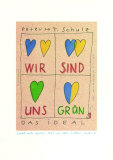 Wir Sind Uns Gruen Collectable Print by Peter-Torsten Schulz