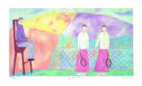 Ladies Tennis, 2000 Limited Edition by Paula Mcardle