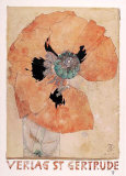Mohnblume Collectable Print by Horst Janssen