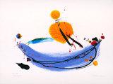 Glueckspilz - Uebermalung, 2000 Limited Edition by Brigitta Zeumer
