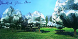 Wrapped Trees No. 11 - Signed Reproductions de collection par  Christo