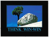 Think-Win-Win Lámina coleccionable