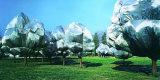 Wrapped Trees XI Reproduction photographique par  Christo