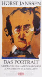 Edgar Allen Poe Collectable Print by Horst Janssen
