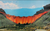 Valley Curtain 1970-1972 - Signed Collectable Print by  Christo