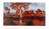 Herbst im Moor Posters af Otto Modersohn