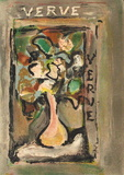 Fleurs I Collectable Print by Georges Rouault