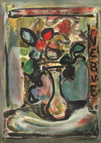 Fleurs II Collectable Print by Georges Rouault