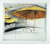 Umbrellas No. 3 Limited Edition by Christo 