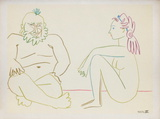 Com&#233;die Humaine : 27.1.54. XIV Collectable Print by Pablo Picasso