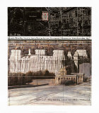 Wrapped Reichstag XX Collectable Print by Christo