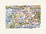 Paysage V Collectable Print by Irene Pereira Leal