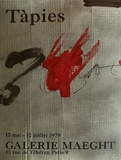 Expo Galerie Maeght 79 Collectable Print by Antoni Tapies