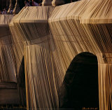 Pont Neuf Detail IX Collectable Print by Christo 