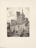 Wismar, Nicolaikirche Collectable Print by  Eichler