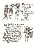 Femmes Daube et de Nuit Collectable Print by Guillaume Corneille