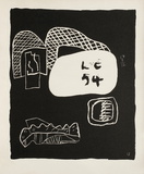 Entre-Deux No. 17 Collectable Print by  Le Corbusier