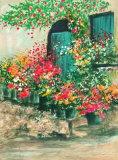 Jardin fleuri II Limited Edition by Raphael Robic