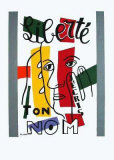 Liberte Jecris Ton Nom Collectable Print by Fernand Leger