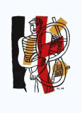 Le Cycliste Collectable Print by Fernand Leger