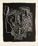 Entre-Deux No. 15 Collectable Print by  Le Corbusier