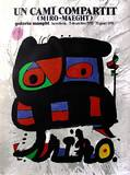 Expo Barcelona 1975 Collectable Print by Joan Miró
