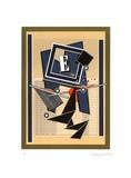 Lettre e et Sa Memoire Limited Edition by Alain Le Yaouanc