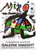Galerie Maeght, 1979 Collectable Print by Joan Mir&#243;