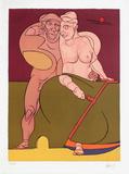 Picasso et la Femme Neoclassique Begränsad utgåva av Valerio Adami