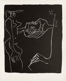 Entre-Deux No. 11 Collectable Print by  Le Corbusier