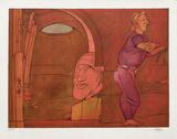 Naissance de la Peinture Begränsad utgåva av Valerio Adami