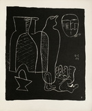 Entre-Deux No. 6 Samlartryck av Le Corbusier,