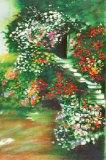 Jardin fleuri IV Limited Edition by Raphael Robic
